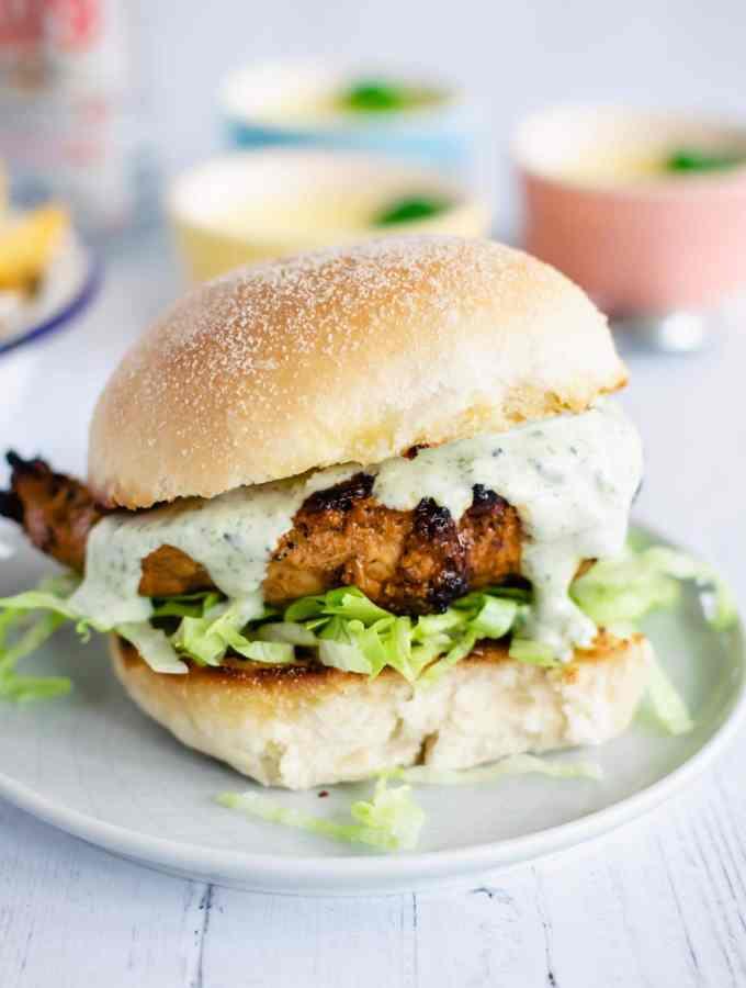 healthy grilled chicken sandwich recipe