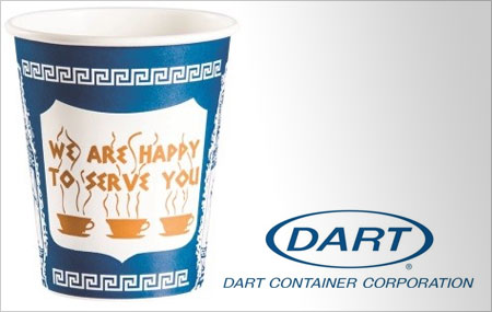 Dart Anthora Hot Coffee Cup