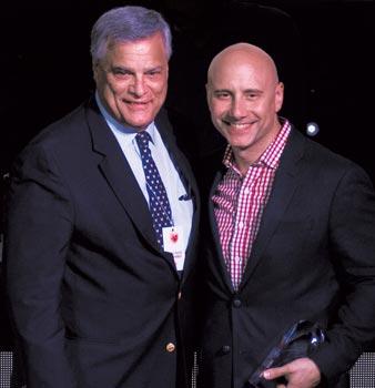 Doug Griebel (Rosa Mexicano & NYC Hospitality Alliance) & Sabato Sagaria (Union Square Hospitality Group)