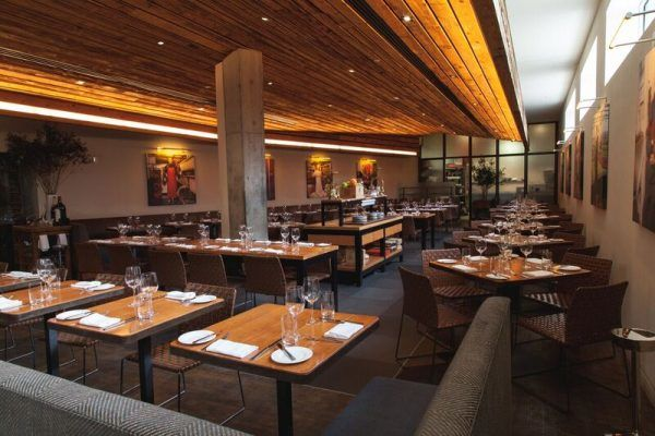 The interior of David Burke Kitchen. Photo courtesy of Craveable Hospitality Group
