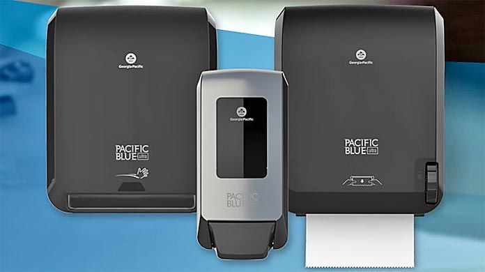 Georgia Pacific (GP) PRO's Pacific Blue Ultra™ Paper Towel and Soap DIspensers