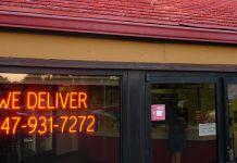 Creating restaurant signage