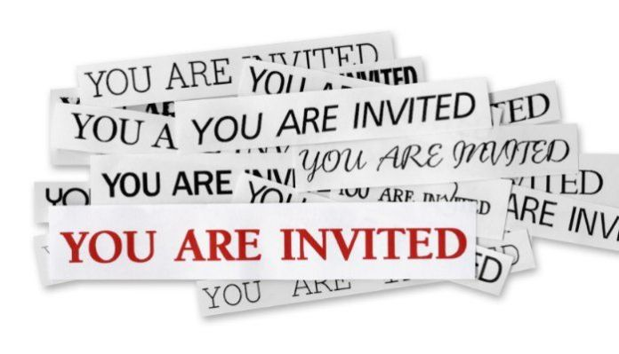 inviting customers to return repeat customer