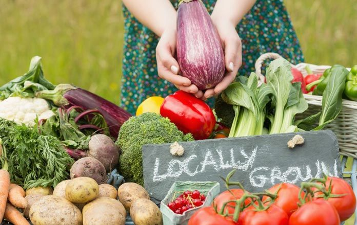 Locally sourced food