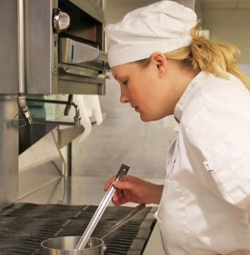 culinary student timing Institute of Culinary Education