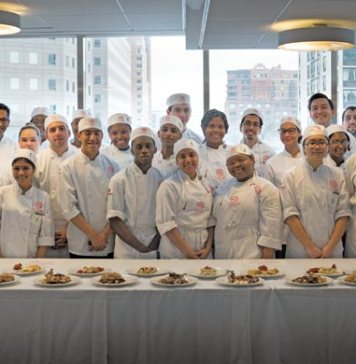 C-CAP culinary students