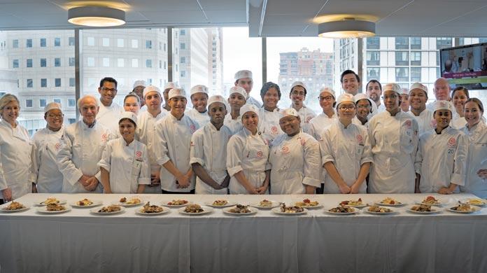 C-CAP culinary students