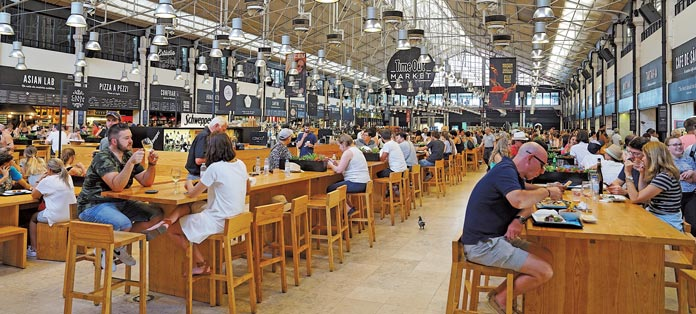Food hall frenzy in new york city total food service the malvernweather Images