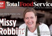 August 2018 Missy Robbins Lilia
