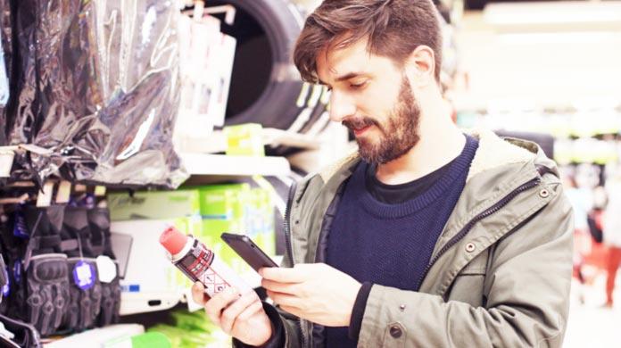 smart packaging QR code
