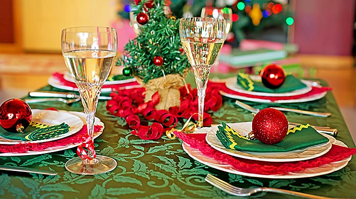 holiday magic christmas table