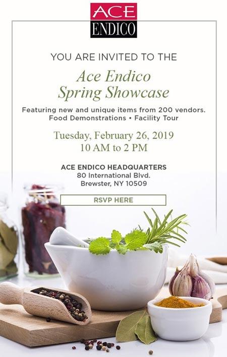 Ace Endico Spring Showcase