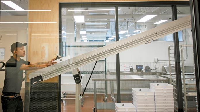 restaurant food conveyor system