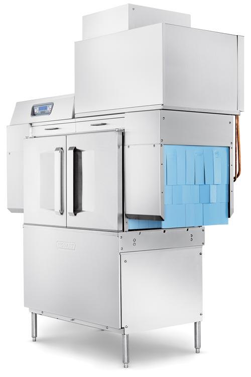Hobart Introduces Line Extension of CLeN Conveyor Dishwasher