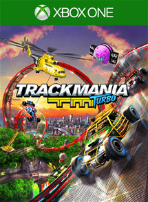 Trackmania turbo xbox one cover