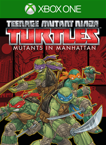 TMNT Mutants in Manhattan xbox one game cover
