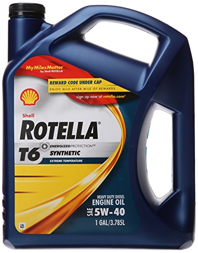 Shell rotella oils
