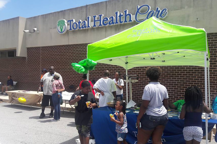 Volunteer for Total Health Care