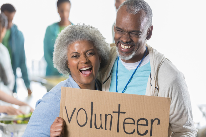 Volunteer at Total Health Care Baltimore