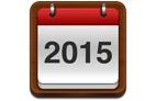Total IP fecha calendário de 2015 com chave de ouro