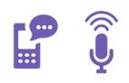 Qual a diferença entre Portal de Voz e SMS?