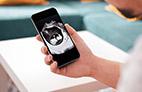 Conheça o mini ultrassom conectável em Iphone