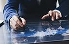 Atendimento digital para entrar em contato com o cliente