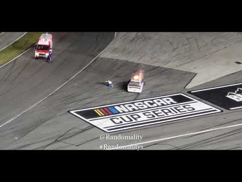 VIDEO: 2020 Daytona 500 Fiery Crash  Ryan Newman #6 aftermath
