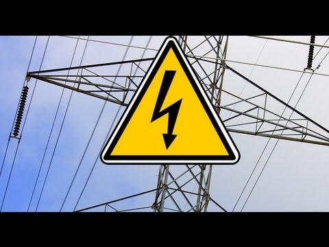 VIDEO: Messing With High Tension Power Lines
