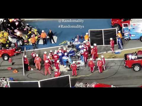 VIDEO: Ryan Newman #6 NASCAR 2020 Daytona 500 Crash Cutting Roof Off Vehicle