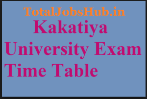 kakatiya-university-time-table