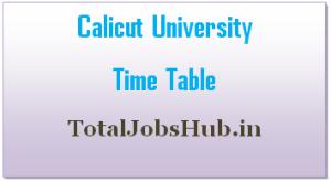 calicut-university-time-table
