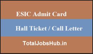 esic-admit-card