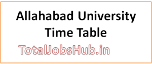 allahabad-university-time-table