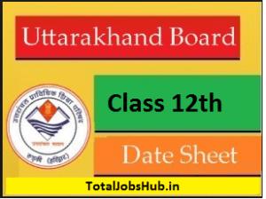 uttarakhand-board-12th-date-sheet