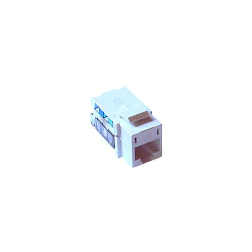 small resolution of single pack cat 6 phone jack white