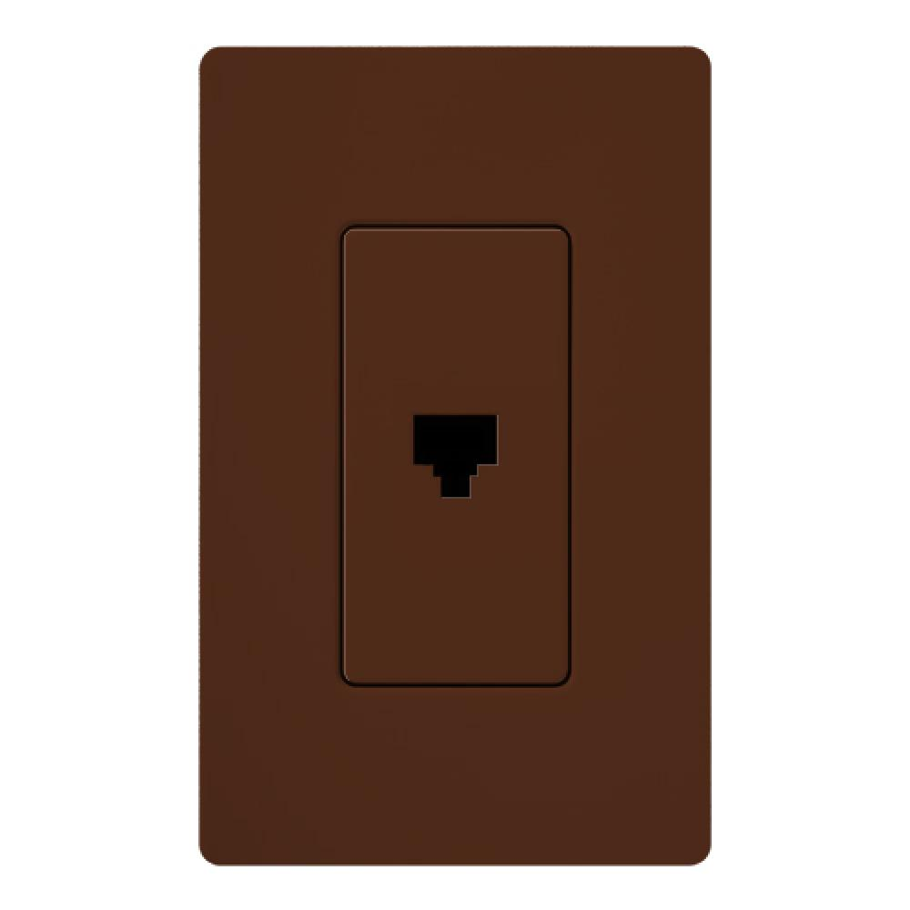 hight resolution of satin color phone jack sienna