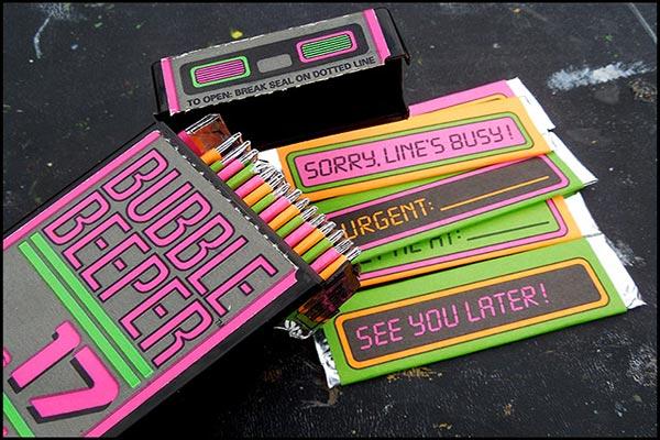 17 Bubble Sticks Gum 90s