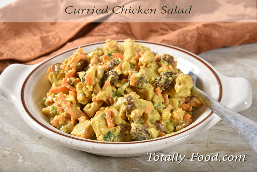 Delicious Curried Chicken Salad