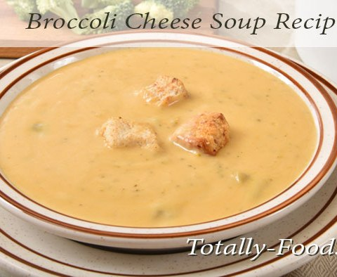 broccoli cheese bisque