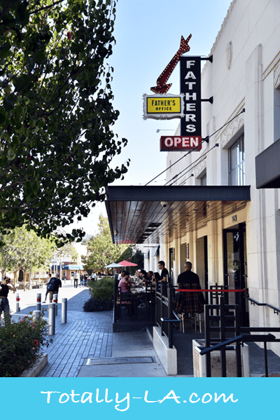 LA restaurant guide, Father's Office Restaurant, Los Angeles Dining Guide, Food, Burgers