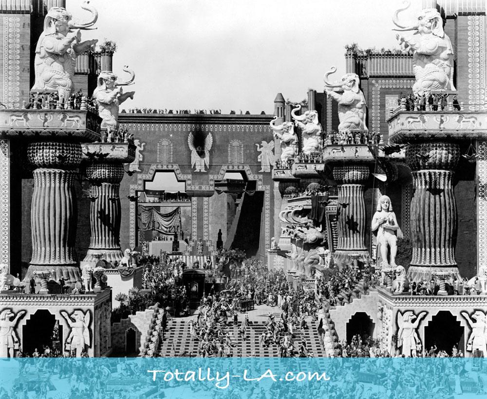 1916 Babylon set from Intolerance.