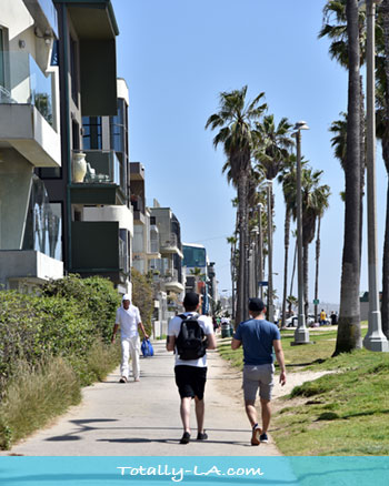 Venice beah boardwalk