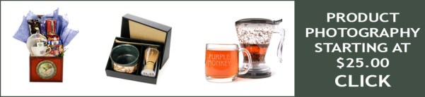 Product photography ad