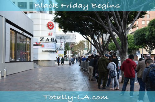 LA Christmas Shopping