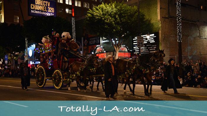 Hollywood Christmas Parade.Hollywood Christmas Parade Totally La