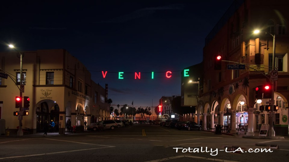 Venice Sign Christmas