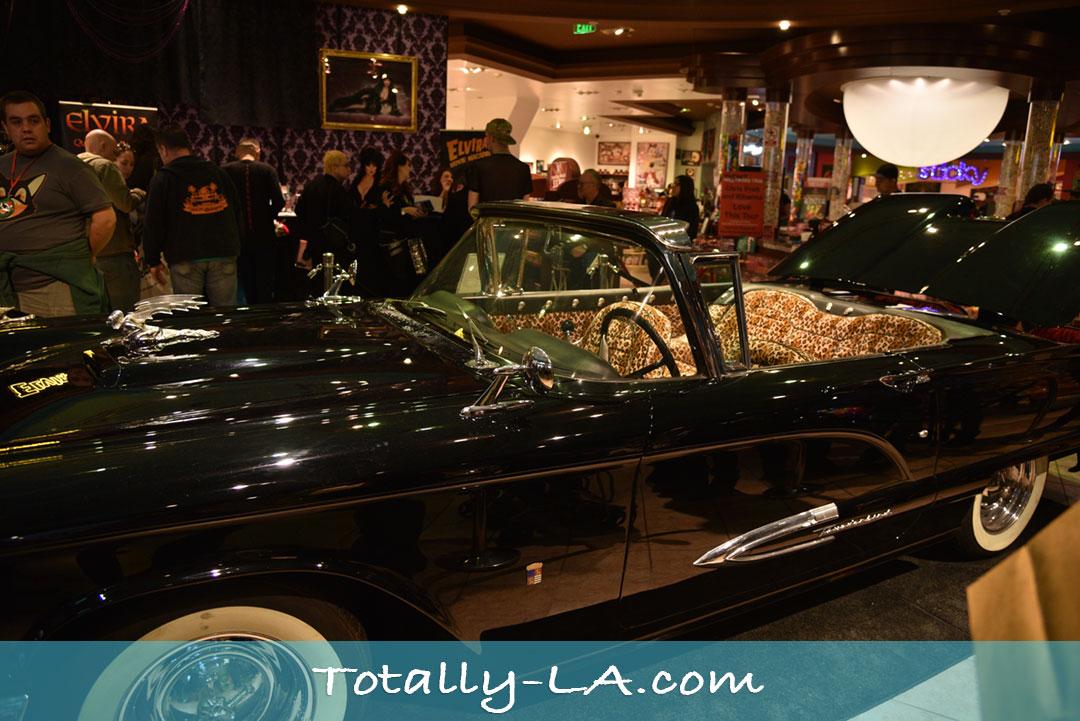 Elvira car interior