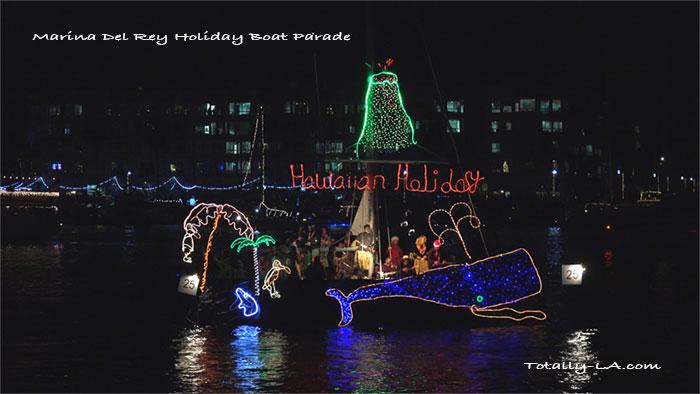 Marina Del Rey Christmas Boat Parade