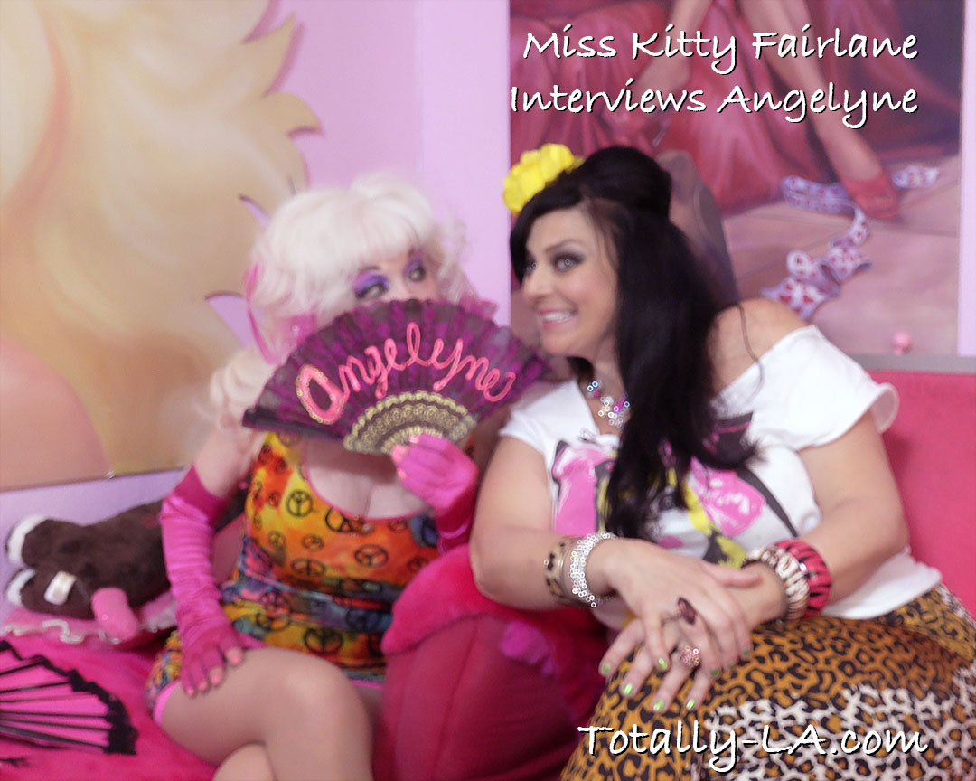 miss kitty fairlane with angelyne